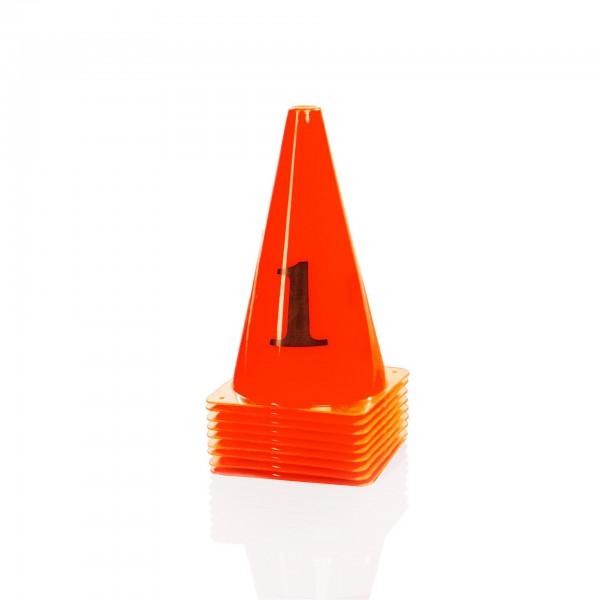 Produktbild Gymstick Hütchen-Set orange (10 Stück)