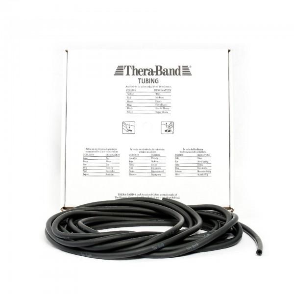 Produktbild TheraBand Tubing 7,50 m, spezial stark / schwarz