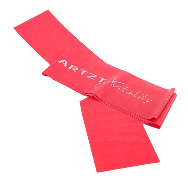 ARTZT vitality Übungsband 2,5 m, rot