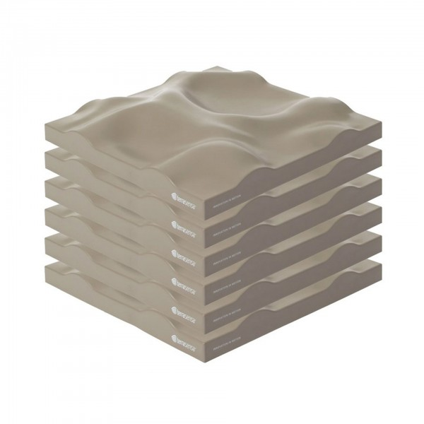 Produktbild terrasensa Flat sandbraun (6er-Set)