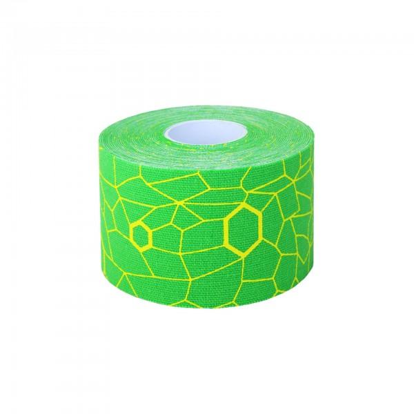 Produktbild TheraBand Kinesiology Tape Rolle 5 m x 5 cm, grün