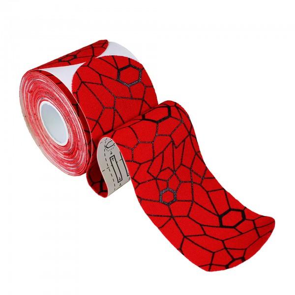 Produktbild TheraBand Kinesiology Tape Precut Rollen (20 Tapes á 25,4 x 5 cm), rot