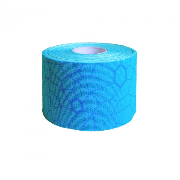 Produktbild TheraBand Kinesiology Tape Rolle 5 m x 5 cm, blau
