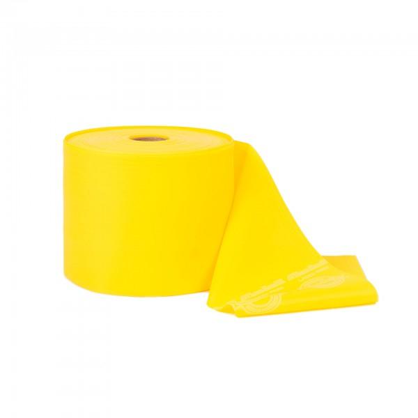 Produktbild TheraBand latexfreies Übungsband 45 m, leicht / gelb