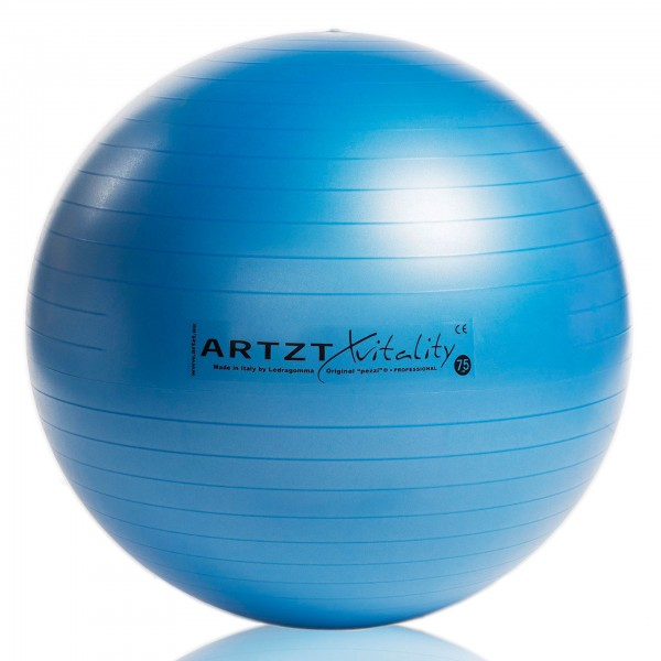 Produktbild ARTZT vitality Fitness-Ball Professional, 75 cm / blau