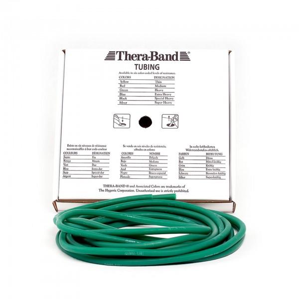 Produktbild TheraBand Tubing 7,50 m, stark / grün