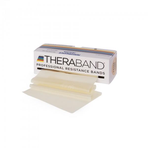 Produktbild TheraBand Übungsband 5,50 m, extra dünn / beige