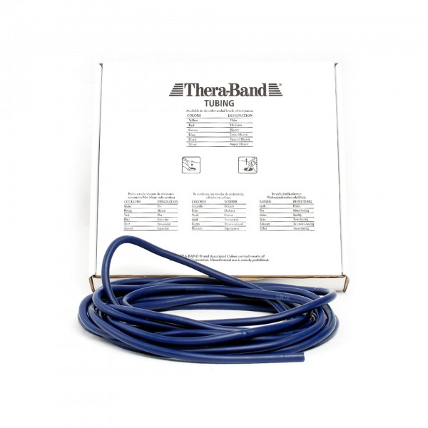 Produktbild TheraBand Tubing 7,50 m, extra stark / blau