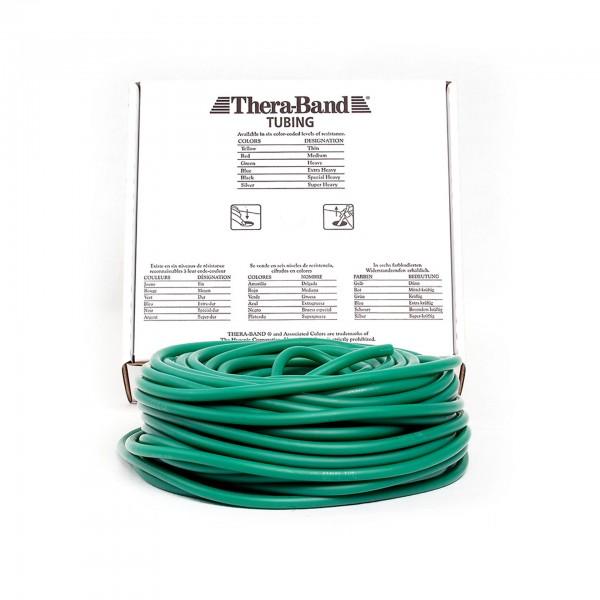 Produktbild TheraBand Tubing 30,5 m, stark / grün