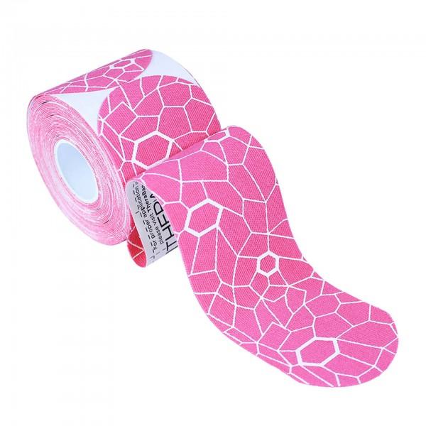 Produktbild TheraBand Kinesiology Tape Precut Rollen (20 Tapes á 25,4 x 5 cm), pink