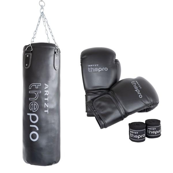 Produktbild ARTZT vitality Boxsack Set mit Handschuhen und Handgelenksschutz