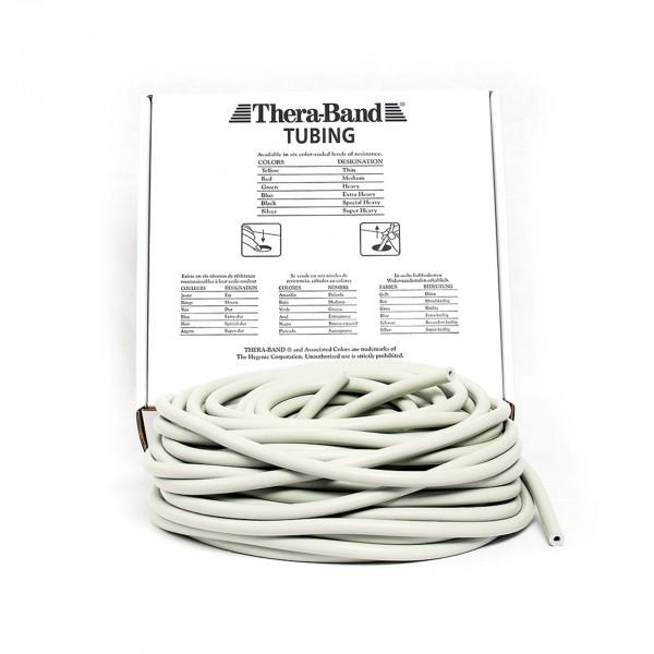 Produktbild TheraBand Tubing 30,5 m, super stark / silber