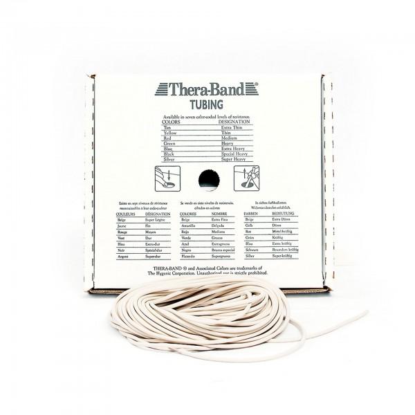 Produktbild TheraBand Tubing 7,50 m, extra dünn / beige