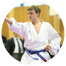 Ferdinand Jeske, Deutscher Vize-Meister Karate, Physiotherapeut, Bobath-Therapeut und certified BellaBambi teacher